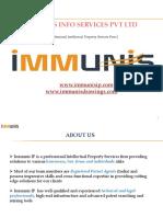IMMUNIS Patent Services Presentation
