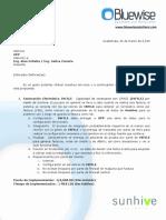 Propuesta Facturación Electrónica INFILE & GFACE Generico