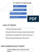 Management Therapy of CHF