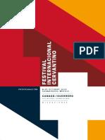 Programa PDF Festival Internacional Cervantino 2019