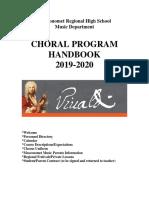 chorus handbook 19-20