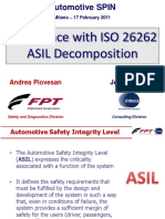 Experience With ISO 26262 ASIL Decomposition