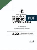 Residência Medica Veterinária