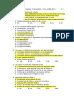 Fisiología 2015  CUESTIONARIO