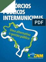 Consórcios públicos intermunicipais Uma alternativa à gestão pública