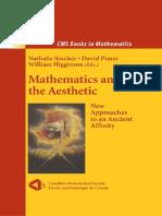 Nathalie Sinclair, David Pimm, William Higginson_Mathematics and the Aesthetic (2007)