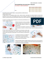 Aprendiendo Geometría Con Plastilina y Palillos Imprimir