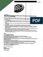 Fraudulent Check Letter
