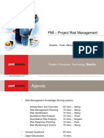 Project Risk Management - PEROT SYSTEMS