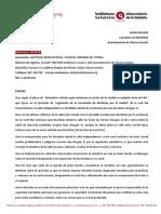 (04/2019) Incorporación Peligrosa a Jesús Guridi