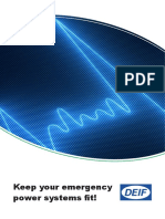 Keep Your Emergency Power Systems Fit