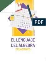 El Lenguaje Del Álgebra Ecuaciones
