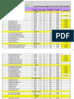 Copia de Lista de Precios 2019- On