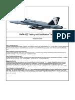 VMFA-122 Training Tracker