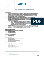 Reference Material for Pmp Capm Exams