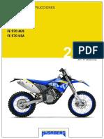 FE 450 Manual de Instrucciones