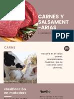 Carnes y Salsamentarias