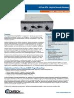 Comtech/EFData H-Plus ODU Heights Remote Gateway Datasheet