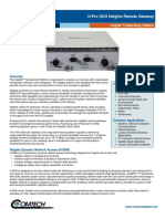 Comtech/EFData H-Pro ODU Heights Remote Gateway Datasheet