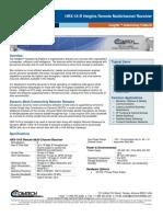 Comtech/EFData HRX-16-R Heights Remote Multichannel Receiver Datasheet