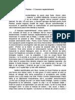 Aurel Pantea cronica