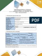 Guía de Actividades y Rúbrica de Evaluación Fase -1 Actividad Exploratoria