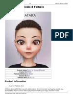 Female DAZ3D