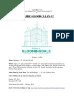 Bloomingdale Cleanup R Quincy NW 2019 09 15