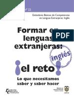 GUIA 22 - Formar en Lenguas Extranjeras- Inglés- Parte I