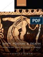 Esther Eidinow - Envy, Poison, And Death Women on Trial in Ancient Athens