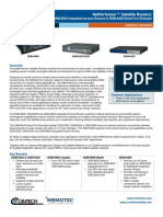 Comtech/EFData NetPerformer Satellite Routers Data Sheet