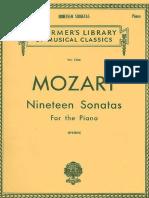 Mozart (19 Sonatas For Piano).pdf