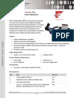 FF H1 Interoperability Test Kit Data Sheet