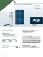 Fluid Solar Es 60hz PEDROLLO