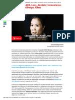 Casación 599-2018, Lima. Análisis y Comentarios, Por José David Burgos Alfaro _ Legis.pe