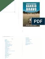 Libro Barrio Bravo