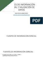 Fuentes Info Validacion