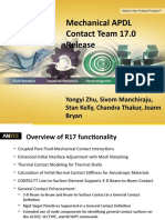 Mechanical APDL Contact Team 17.0