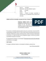 Devolucion de Demanda y Anexos Pascual