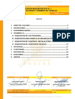 Aplicacion de Requisitos ECF 01 Codelco Andina