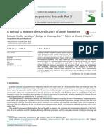 A Method to Measure the Eco-efficiency of Diesel Locomotive