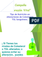 5 Corazon Vital Alimentos y Dislipidemias