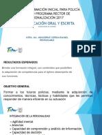 Comunicación Oral y Escrita Presentación