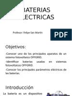 BATERIAS ELECTRICAS