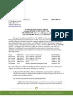 Summary Suspension Order-Nova Farms
