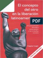 GOGOL, Eugene, El Concepto Del Otro en La Liberación Latinoamericana