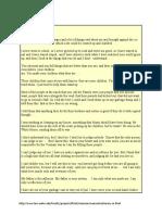 Direct Testimony of Charles Manson