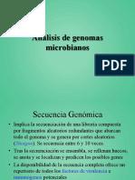 Analisis genomas microbianos