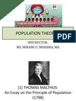 12 Population Theories