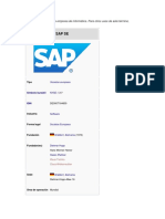 Cargue Sde Documento SAP